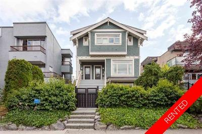 Kitsilano Townhouse:  2 bedroom  Stainless Steel Appliances, Tile Backsplash, Glass Shower, Hardwood Floors
