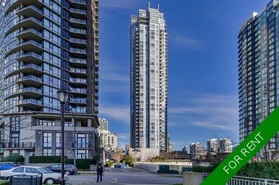 Yaletown Apartment for rent: West One 2 Beds + Den + Storage  Stainless Steel Appliances, Hardwood Floors 1,100 sq.ft. (Listed 2017-05-01)